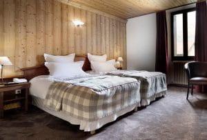 Chambre hôtel Auberge de Savoie