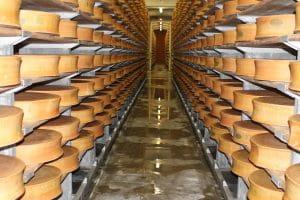 Cave d'affinage coopérative laitière Moûtiers