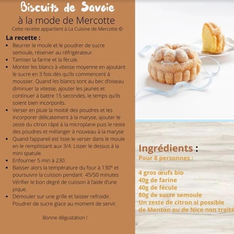 canevas biscuits de Savoie