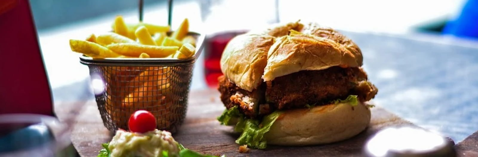 Plat burger / frites