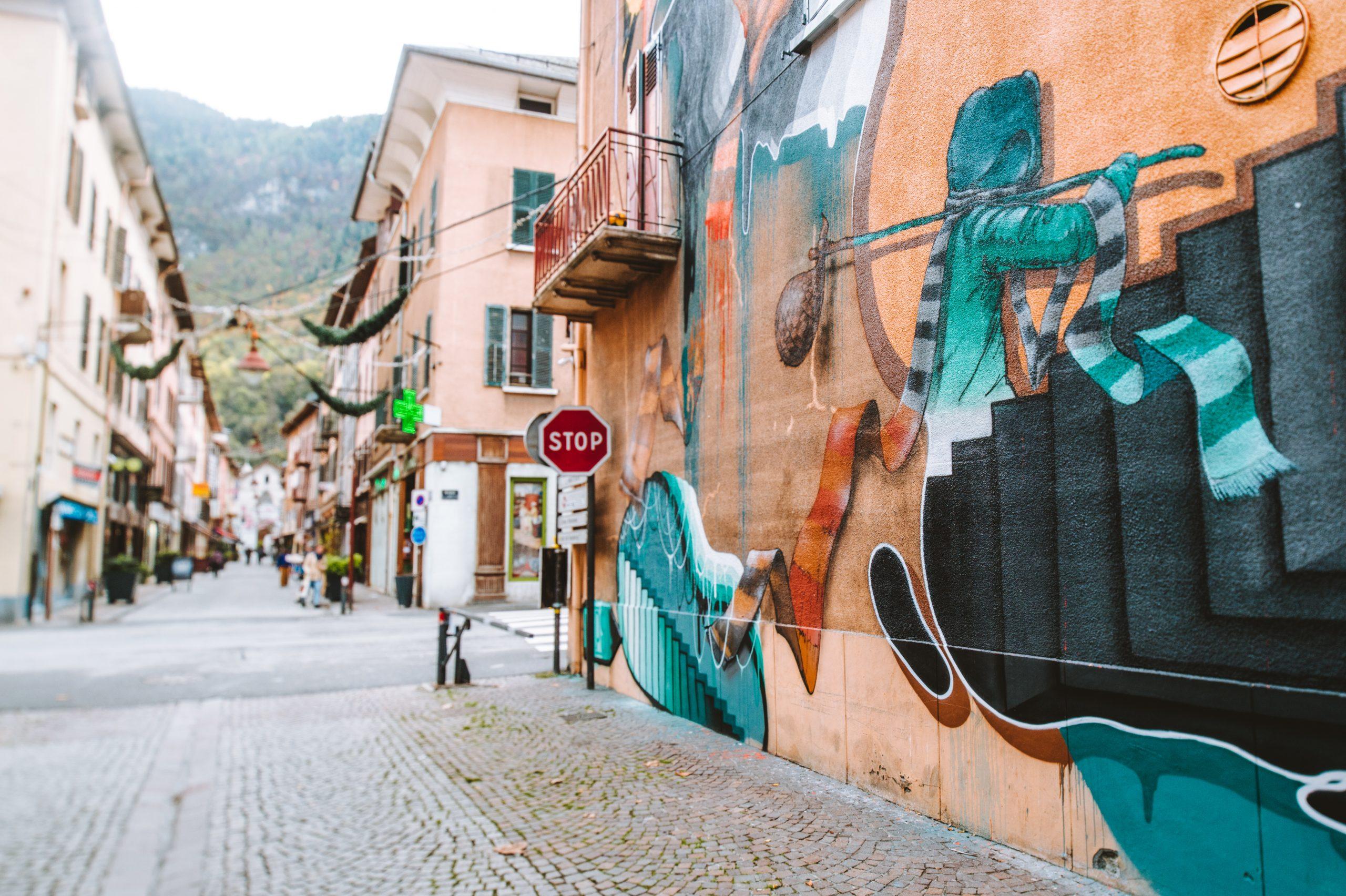Street-Art Moûtiers