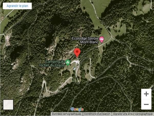 Google map localisation site escalade notre dame du pré