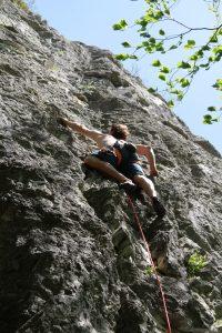 Rocher d'escalade Hautecour