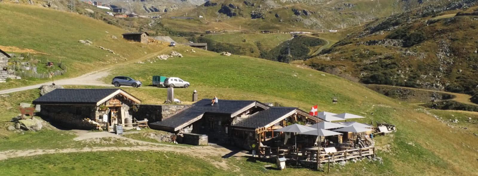 Ferme d'alpage Chez Pépé Nicolas Val Thorens