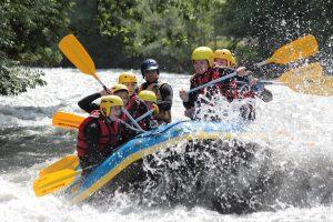 Rafting avec Franceraft